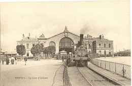 44 -   NANTES - La Gare D'Orléans  297 - Nantes