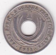 East Africa & Uganda Protectorates 1 Cent 1911 H . KM# 7 - East Africa & Uganda Protectorates