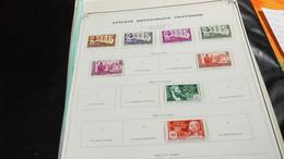 DM247 LOT FEUILLES COLONIES NEUFS / OB A TRIER  COTE ++  DÉPART 10€ - Collections (en Albums)