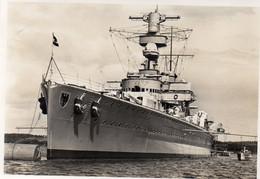 DC3543 - Ak Panzerschiff Deutschland - Material