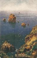 """H.B.Wimbush.. Surging Seas"" Lot Of Five (5) Tuck Oilette Sea Studies Series PC # 9633 - Tuck, Raphael"