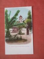 Private Mailing Card  --Gardens Of  Santa Barbara  Mission  California > Santa Barbara  Ref 4607 - Santa Barbara