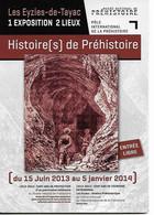 Dordogne Les EYZIES  FLIERS GROTTE  HISTOIRE DEPREHISTOIREJUIN 2013 JANVIER2014 - Non Classés