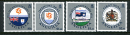 Anguilla 1992 25th Anniversary Of Separation From St Kitts-Nevis Set LHM (SG 885-888) - Anguilla (1968-...)