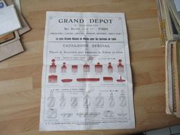 Catalogue Porcelaine Cristal Verrerie Grand Depot Bourgeois   Catalogue - 1900 – 1949