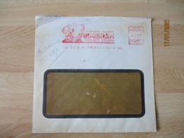 Ema , T S F Tsf Lampe Tungsram  15 F  Postes C 2060 Empreinte Machine Affranchir - 1921-1960: Moderne