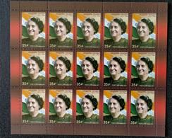 RUSSIA MNH (**)2017 The 100th Anniversary Of The Birth Of Indira Gandhi, 1917-1984 - Blocs & Hojas