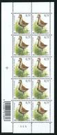 Buzin Nr 3269** Velletje Van 10 Met Plaatnr 5 - 1985-.. Vogels (Buzin)