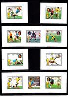 Soccer World Cup 1974 - FUJEIRA - 10 S/S Imp. De Luxe MNH - 1974 – West-Duitsland