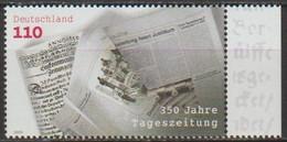 BRD 2000 MiNr.2123 ** Postfrisch 350 Jahre Tageszeitungen ( 5242 )günstige Versandkosten - Ongebruikt