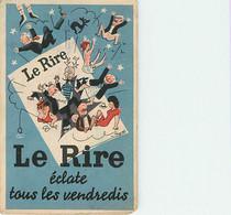Publicité Pour Journal Le Rire Illustrateur Peynet  Presse Voir Verso - Advertising