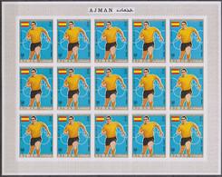 Soccer World Cup 1970 - AJMAN - Sheet Imp. De Luxe MNH - 1974 – West-Duitsland