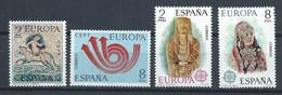 Espagne YT 1779-1780 + 1829-1830 Neuf Sans Charnière - XX - MNH Europa 1973-1974 - 1971-80 Nuovi