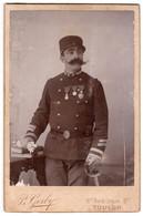 ARMEE FRANCAISE - Sous-officier Du 4° Régiment D'Infanterie De Marine - Décorations Militaires - Guerra, Militari