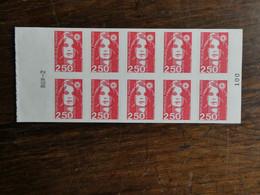FRANCE Carnet Marianne N° 2720 C2 VARIETE Sans Prédécoupage Cote 160 € - Varieties: 1990-99 Mint/hinged