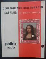 Deutschland Briefmarkenkatalog (im Klein Format !) - Philex 1968/69 - Catalogues