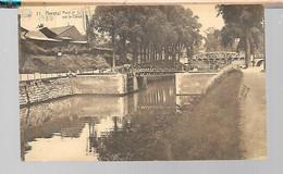 Herstal - 11 - Pont N°3 Corrigé N°4 - Sur Le Canal - Circulé - Voir 2 Scans - Herstal