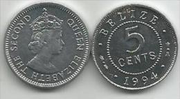 Belize 5 Cents 1994. UNC - Belize