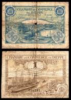 Chambre De Commerce DIEPPE - LOT - 50ct Et 1F - 1920 - Bateau - Chamber Of Commerce