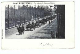 CAMP DE BEVERLOO  -  Vue Prise Sur La Chaussée D'Hechtel 1913 - Leopoldsburg (Kamp Van Beverloo)