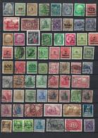 D-Reich - Germania Reich - Deutsches Reich - Mix Different Years (kavel 313) - Used Stamps