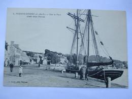 PERROS GUIREC - Sur Le Port - Ahais Deux Perros -  En 1933 - TBE - Perros-Guirec