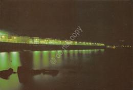 Cartolina Diamante Lungomare Di Notte 1988 - Cosenza