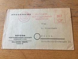 K14 BRD 1961 Drucksache Mit Afs Von Ahlen - Brieven En Documenten