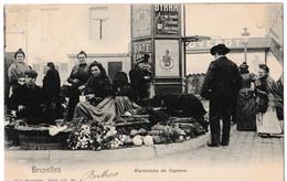Bruxelles - Marchande De Légumes - Old Professions