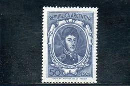 ARGENTINE 1966-7 ** - Neufs