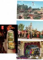 8 Different  California, USA, DISNEYLAND, 6 Chrome & 2 4X6 Postcards - Unclassified