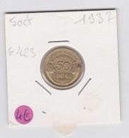 50 Cts Morlon Cupro-aluminium  1937   Sup - G. 50 Centesimi