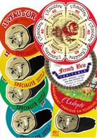 Lot N°35 De 8 étiquettes De Fromage Neuves Pas Décollées - Käse