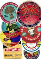 Lot N°38 De 8 étiquettes De Fromage Neuves Pas Décollées - Käse