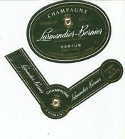 N3 / Wine Old Liqueur Alcohol LABEL Etichetta Etiqueta / Etiquette Alcool / CHAMPAGNE Larmandier Bernier - Champagne