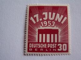 TIMBRE  BERLIN  1953  N°  97  --  NEUF  **   EMEUTES  DU  17  JUIN ( Cote 2014 :   40  Euro  ) - Neufs