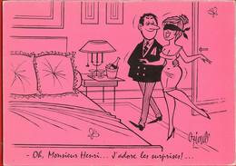 002271 - Oh Monsieur Henri.... J'adore Les Surprises - Illustrateur Henri OZIOULS - Humor