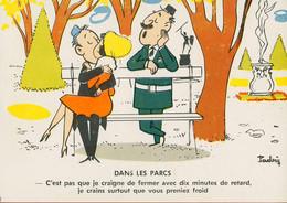 002272 - DANS LES PARCS - Illustrateur PADRY - Humor