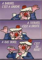 002273 - A BABORD C'est à Gauche - A TRIBORD C'est à Droite - A RAS BORD C'est Du Rosé - Dessin SCHWIETZER - Humor