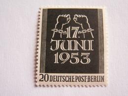 TIMBRE  BERLIN  1953  N°  96  --  NEUF  **   EMEUTES  DU  17  JUIN ( Cote 2014 :   10  Euro  ) - Neufs