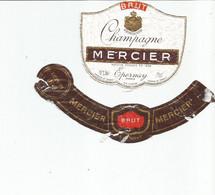 N3 / Wine Old Liqueur Alcohol LABEL Etichetta Etiqueta / Etiquette Alcool / CHAMPAGNE MERCIER - Champagne