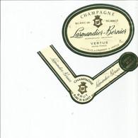 N3 / Wine Old Liqueur Alcohol LABEL Etichetta Etiqueta / Etiquette Alcool / CHAMPAGNE LAMANDIER BERNIER - Champagne