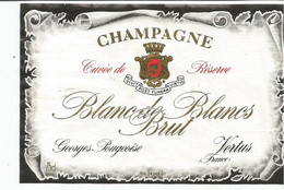 N3 / Wine Old Liqueur Alcohol LABEL Etichetta Etiqueta / Etiquette Alcool / CHAMPAGNE - Champagne