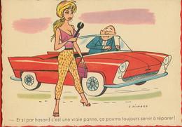 002278 - Et Si Par Hasard C'est Une Vraie Panne, ça Pourra Toujours Servir à Réparer. - Illustrateur G. PICHARD - Humor