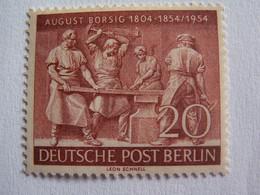 TIMBRE  BERLIN  1954  N°  110  --  NEUF  **  AUGUSTE  BORSIG   ( Cote 2014 :  11  Euro  ) - Neufs
