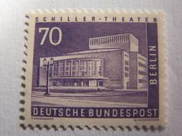 TIMBRE  BERLIN  1956  N°  134 --  NEUF  *  THEATRE  SCHILLER   ( Cote 2014 :  13  Euro  ) - Neufs