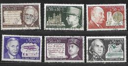 FRANCE Célébrités Année 1971 N° 1667 / 1670 + 1689 1690 Oblitérés - Usati