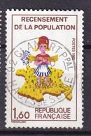 FRANCE - Recensement Sans Le 7 Sur La Corse Oblitéré TTB - Variétés: 1980-89 Oblitérés