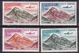 ANDORRE - Série Complète De 1961/4 Neuve - Poste Aérienne