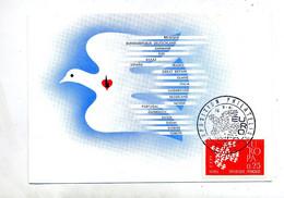 Carte Maximum 1961 Paris Exposition Europa - 1960-69